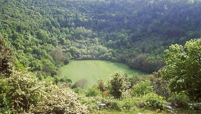 dolina carsica